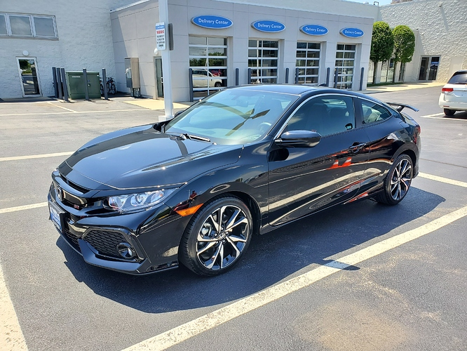 2019 Honda Civic Coupe Si, MSRP: $25,220 36/12, 256 49 w/ tax  $1000