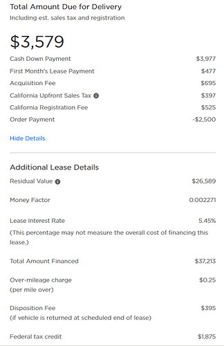 Model 3 Lease terms - July 2019 - Ask the Hackrs
