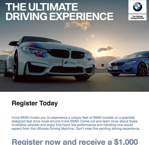 Bmw 1000 Ol Code Signup This Weekend So Cal Irvine Bmw Ude Off