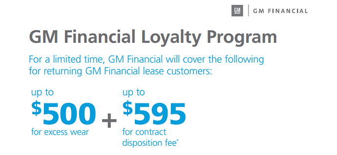 Gm Financial Lease >> Gm Lease Disposition Fee Waiver Question Ask The Hackrs