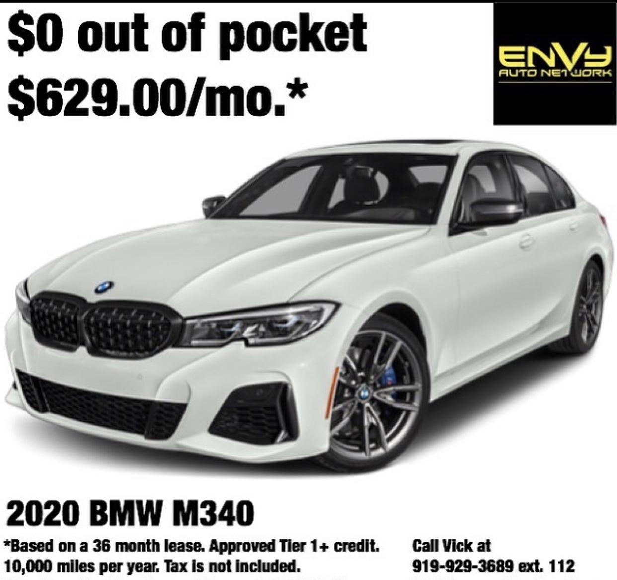 2019 BMW 330i Lease